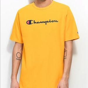 NWOT Men's Gold Champion T-Shirt